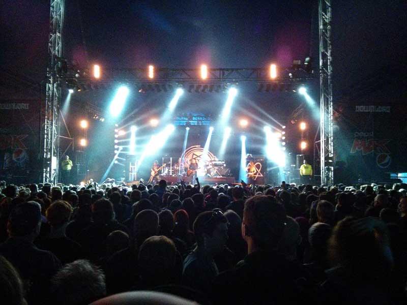 HIM di Download Festival 2013
