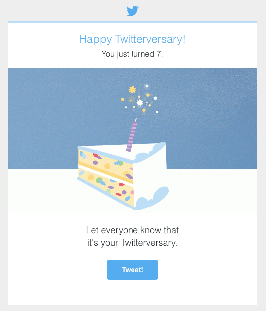 Happy 7th Twitterversary!