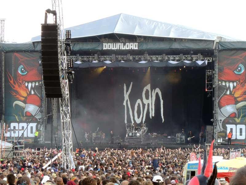 Korn di Download Festival 2013. Foto: Gogeng.