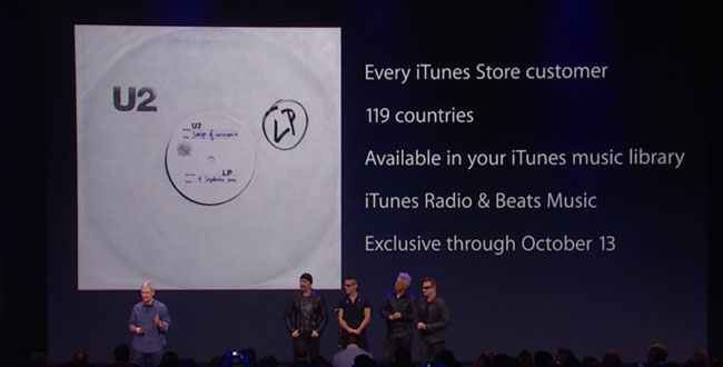 Apple - U2 Fail
