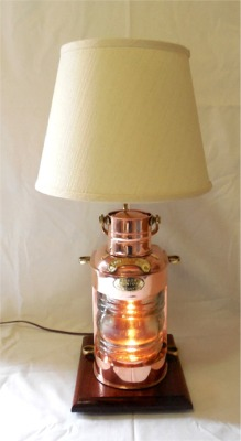 Small Nautical Table Lamps Home Decor