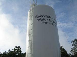 Randolph County - Potash tank