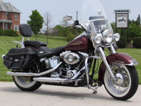 2008 Harley-Davidson Heritage Softail Classic FLSTC   - Stunning Pearl and Chrome - $34 Week