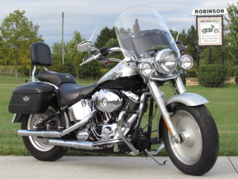2003 Harley-Davidson Fat Boy FLSTF   Local 100th Ann - $29 week or $9,950- Loaded - Solo or Touring