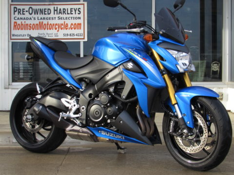 2016 Suzuki GSX-S 1000  - 9,500 KM - Warranty till January 2022 - M4 Exhaust - ONLY $23 Weekly