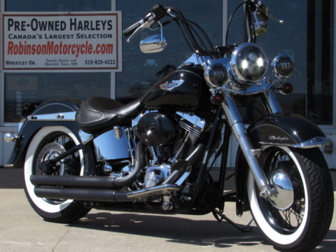 2005 Harley-Davidson Softail Deluxe FLSTN   -Comfort and Cool Customizing