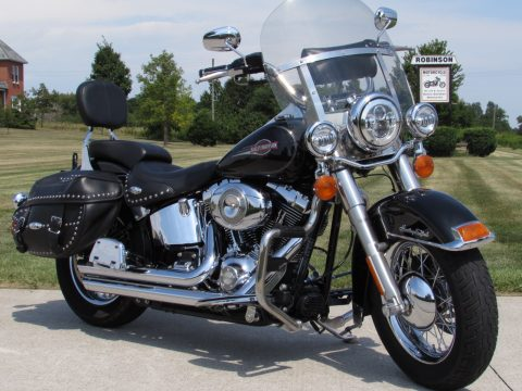 2007 Harley-Davidson Heritage Softail Classic FLSTC   - $4,000 in Options - Only $29 Week