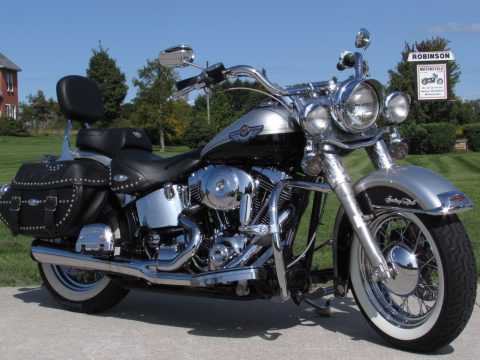 2003 Harley-Davidson Heritage Softail Classic FLSTC   - 6,600 miles - $28 Week - Fully Serviced and Stage 1 Exhaust