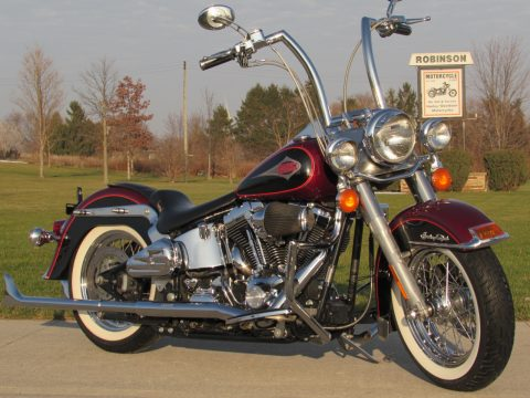2000 Harley-Davidson Heritage Softail Classic FLSTC   - ONLY $37 Week - Fishtail Exhaust and Apes!