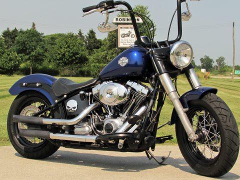 2012 Harley-Davidson Softail SLIM FLS   103 - Beefy Ape handle Bars - Stage 1 Python Exhaust