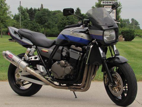 2001 Kawasaki ZRX 1200  - Stainless Yoshimura Exhaust - ONLY 33,000 miles - Low $29 Week!