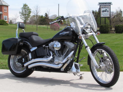 2007 Harley-Davidson Softail FXST   - New Price $29 Week - $5,500 in Options - Vance and Hines Exhaust -