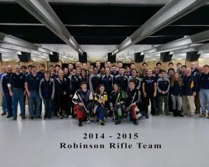 Robinson Rifle Team 2015