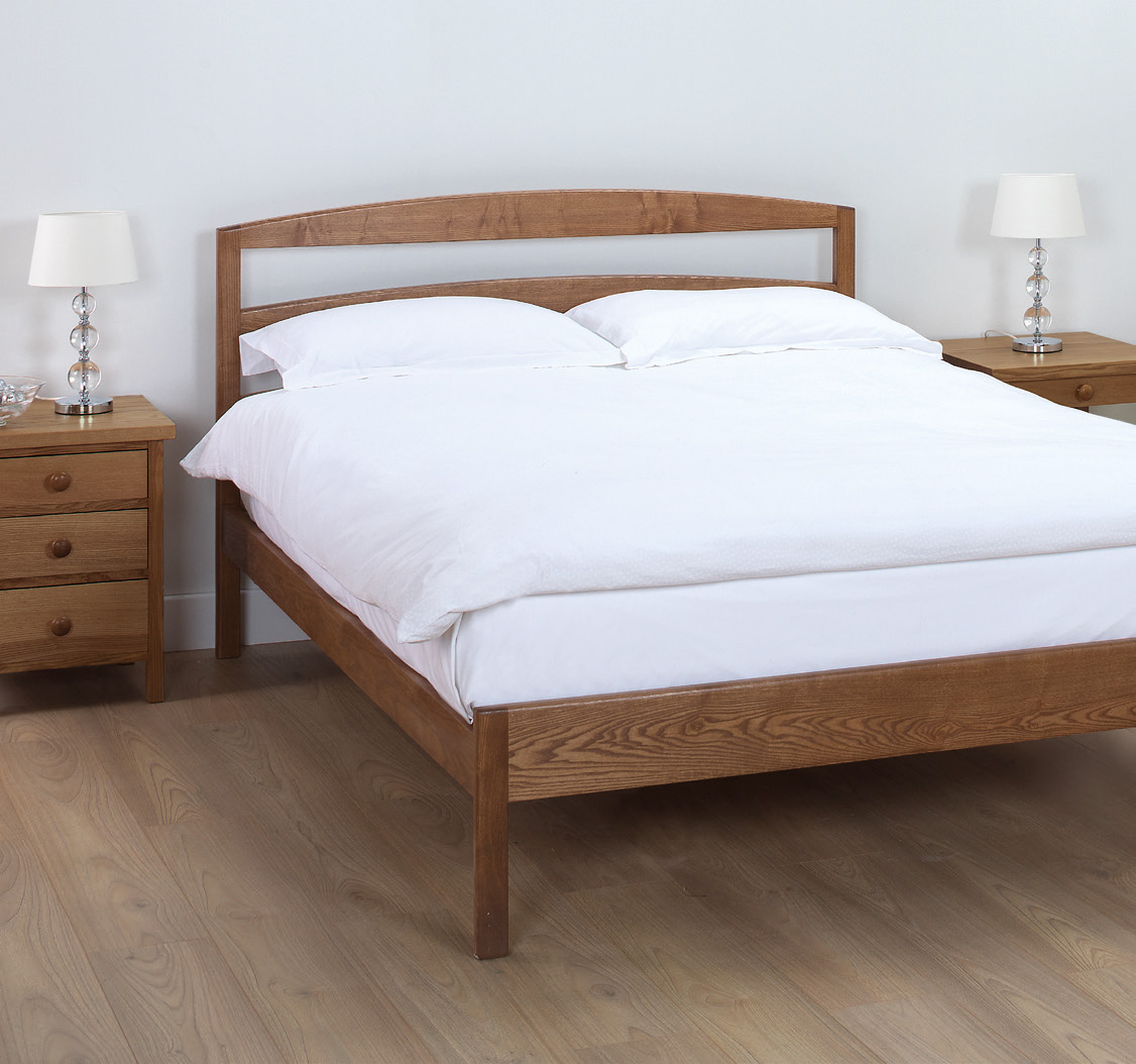 Modern Solid Wood Bed Bespoke Beds Robinsons Beds