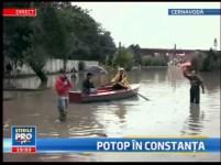 Potop în Constanța, apa are treizeci de centimetri - manipulare marca ProTV