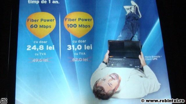 Reclamă mincinoasă de la UPC - Laptopul este oprit