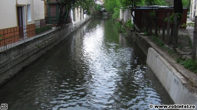 Canalul Morii din Cluj, este frumos de privit și de ascultat după ploaie