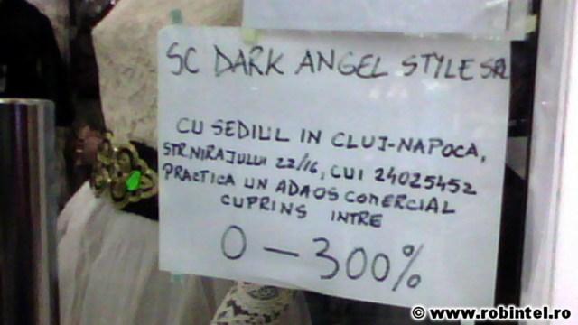 SC Dark Angel Style SRL - o denumire de firmă dată de curentul emo