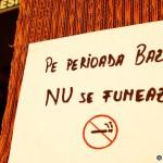 09. O alta rugaminte de bun simt - Pe perioada Bazarului NU se fumeaza!
