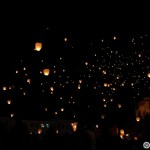 22. Multa lume a venit la lansarea lampioanelor in Piata Unirii din Cluj