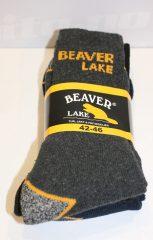 Beaver Lake Arbeidssokk 3 PK.