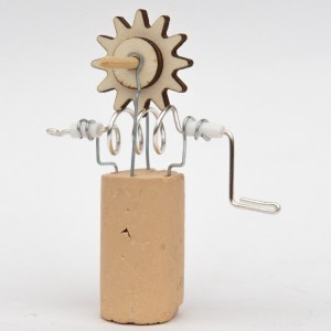 Worm Gear Junk Automata