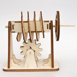 Laser-Cut Worm Gear