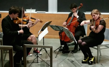 Videri String Quartet playing Children of Liberty