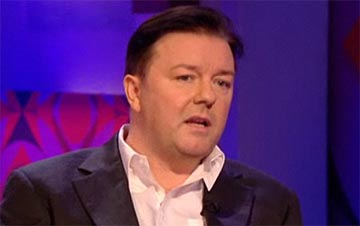 Ricky Gervais on Jonathan Ross