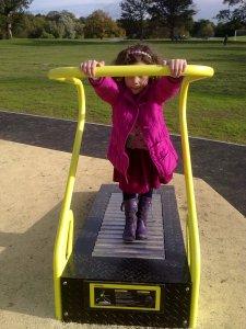 Treadmill in Verulamium Park
