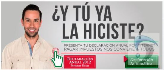 Declaracion anual 2012 formas impresas