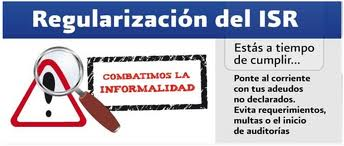 regularizacion isr 2010 cartas de invitacion