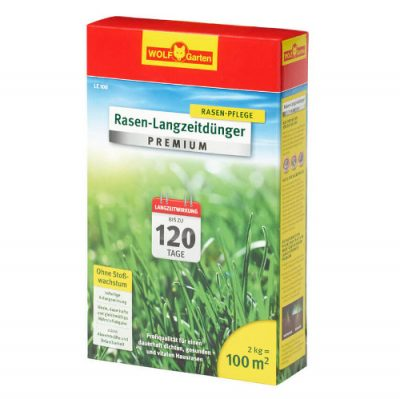 Wolf Garten Rasen Langzeitdünger Premium LE100