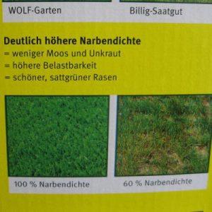 Wolf Garten Robo Spezial Rasenmischung Bild3