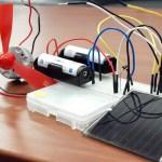 太陽電池で充電装置を作ろう