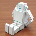 ペーパークラフトでロボットを作ろう