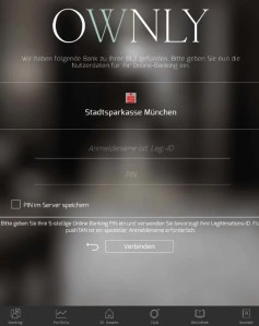 Ownly App Anmeldung