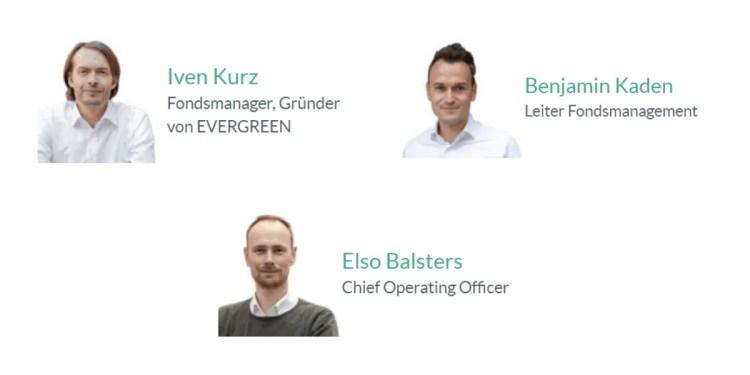 Evergreen Online-Vermögensverwaltung - das Team