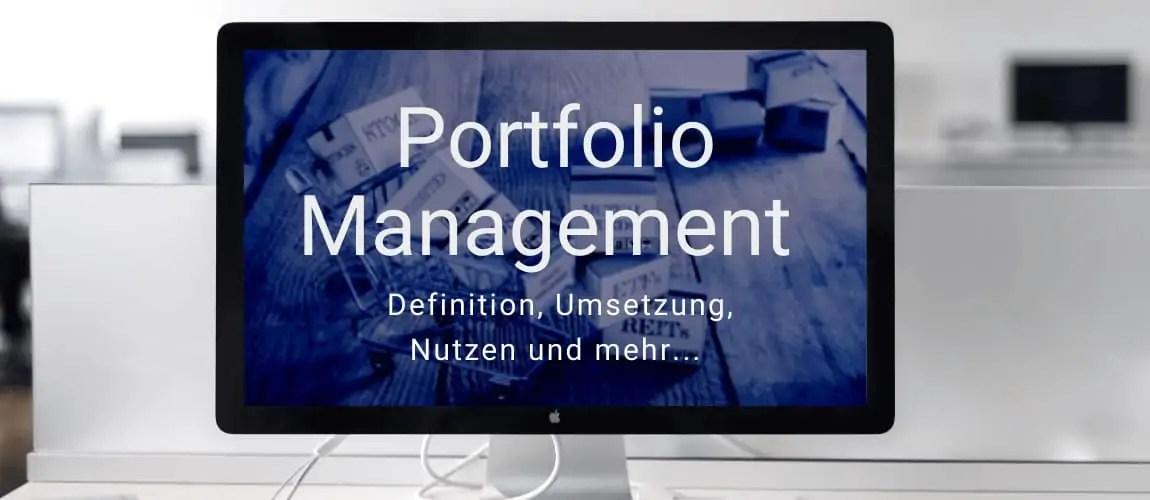 Investmentwissen - das Portfoliomanagement