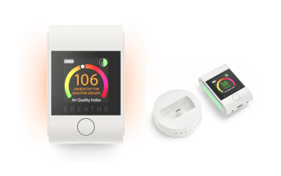 Breathe Smart 2 surveille l'air que vous respirez