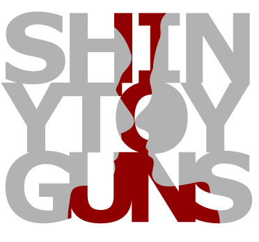 Shiny Toy Guns shirt design