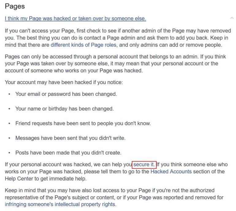 Facebook accout hacked | roboticplanet.co