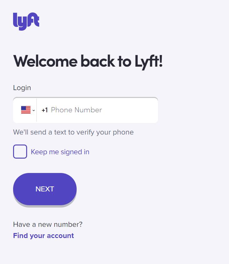 Lyft Account login | roboticplanet.co