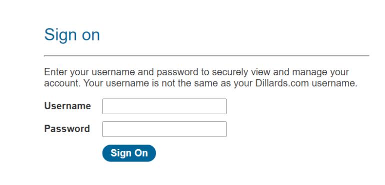 Dillards Credit Card Payment | roboticplanet.co