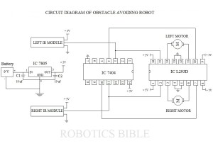 obstacle avoiding robot without microcontroller pdf