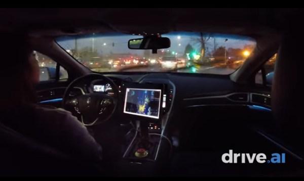 Drive.ai Self-Driving Car Handles Rainy Calif. Streets at ...