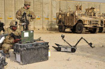 Military UGV from Endeavor Robotics