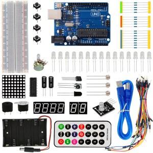 H013 UNO R3 Basic starter kit per Arduino