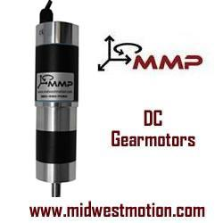 Midwest Motion Products, Inc. (MMP) - Brushed Right-Angled Gearmotors