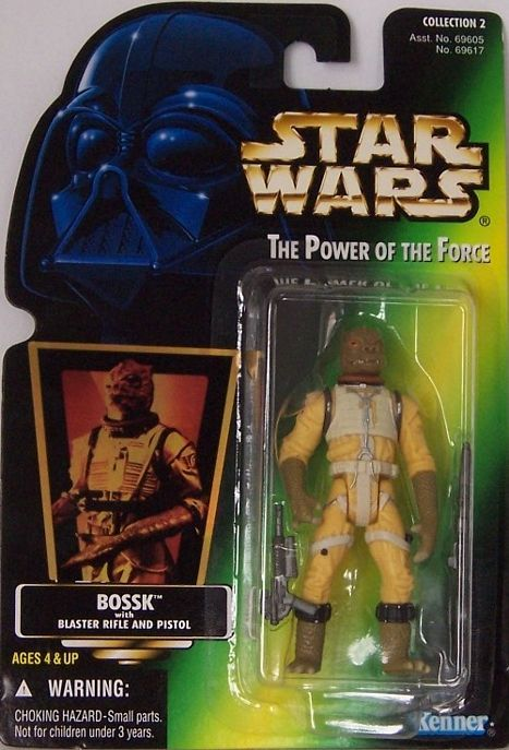Wars Card And Potf2 Power Pistol Force Blaster Hologram Star Rifle W Bossk